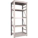 Heavy-Duty Bolted Shelf M10 (1,000 kg Type, 2,115 mm Height, 5-Level Type)
