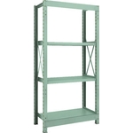 Medium Capacity Bolted Shelf Model R3 (300 kg Type, Height 1,800 mm, 4 Shelf Type)