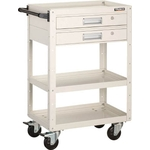 Eagle Wagon (Rubber Casters 4-Wheel Swivel Specification / with Two Tier Drawers)