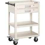 Eagle Wagon (Rubber Casters / with Two Tier Drawers)