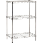 Stainless Steel Mesh Rack (SUS304 Uniform Load 30 kg, Pipe Diameter φ19 mm) Additional Shelf