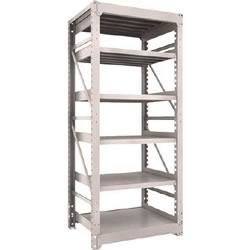 Heavy-Duty Bolted Shelf M10 (1,000 kg Type, 2,115 mm Height, 6-Level Type)