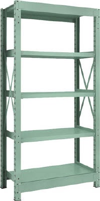 Medium Capacity Bolted Shelf Model R3 (300 kg Type, Height 1,800 mm, 5 Shelf Type)