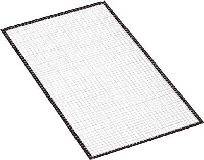 Rear Mesh (Made of Resin) for Medium Capacity Boltless Shelves