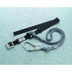 Safety Band with Rotary Hook Specialized for Suspension from a Single Line (16 mm Diameter Rope) No.AGH-16RC