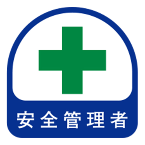 Helmet Stickers, Safety Manager