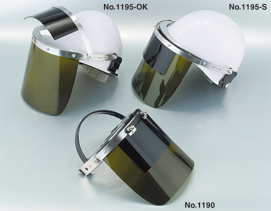 Double Lens Style Face Shield No.1195