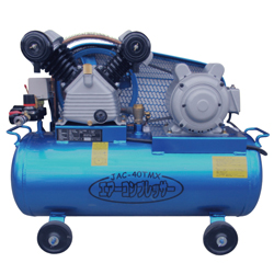 Air Compressor, 2-Cylinder Type, Single-Phase 100 V
