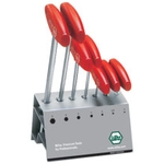 T-Handle Hex Key Set with Stand - 7 Piece Set, 2mm to 8mm (WIHA)
