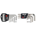 Short L-Shape Hex Key Set - Available in 7 or 9 Piece Sets, 1.5mm to 10mm, 351H Series (WIHA)