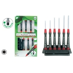 Set of Pico Finish Precision Torx® Screwdriver with Magic Spring