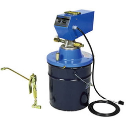 For Grease, Electric Lubricator for Pail Can, 24 V DC Type