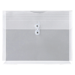 Envelope with Gusset, Clear A4 Horizontal