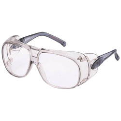 Twin-Lens Type Safety Glasses (with Non-Slip Rubber) Anti-Fog Type