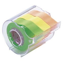 Memoc Roll Tape Fluorescent Colors, Lime/Lemon/Orange