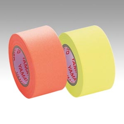 Memoc Roll Tape Fluorescent Colors, Refill, Orange/Lemon