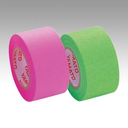 Memoc Roll Tape Fluorescent Colors, Refill, Rose/Lime