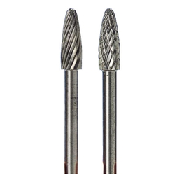 Carbide Cutter Pointed Type with Rounded Tip