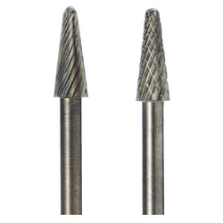 Carbide Cutter, Round Taper Tip Type