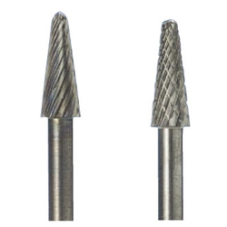 Long Carbide Taper Tip Round Cutter