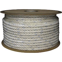 Vinylon Ropes 3-Strand Type 6 mm X 30 m/16 mm X 100 m