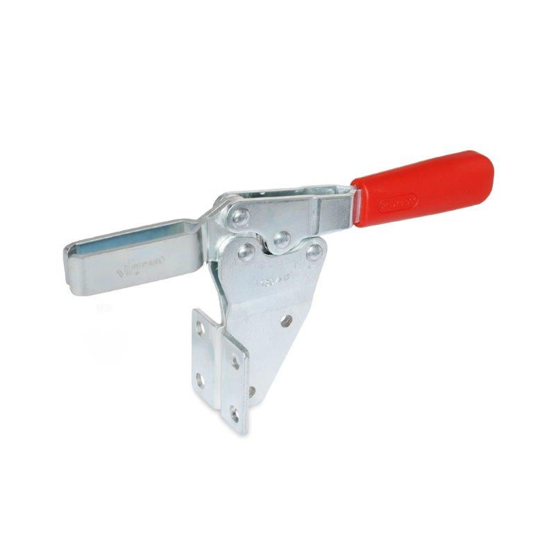 Horizontal Acting Toggle Clamps - Vertical Mounting Base, GN 820.2 Series (JW Winco)