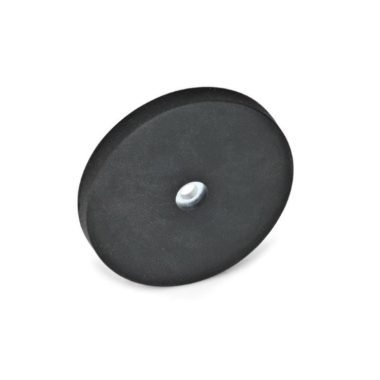 Retaining Magnets - Thru Hole, Rubber Jacket, GN51.4 Series (JW Winco)