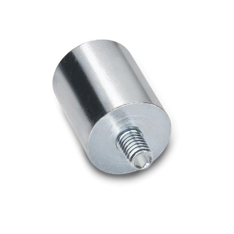 Retaining Magnets - Threaded Stud, GN52.4 Series (JW Winco)
