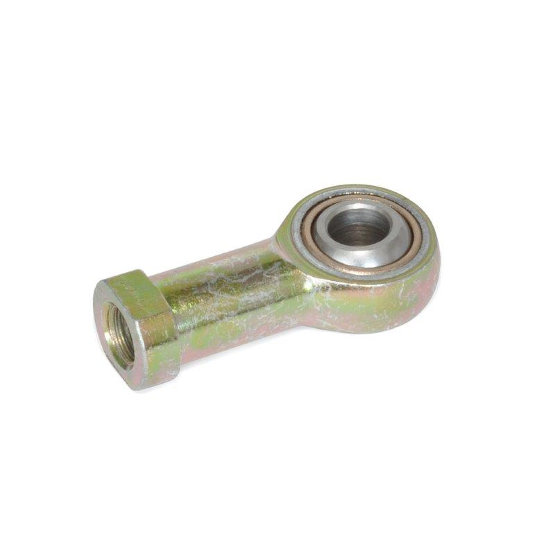 Self-Lubricating Rod End Bearings - Tapped Type, WN 648 Series, , Inch Measurements (JW Winco)