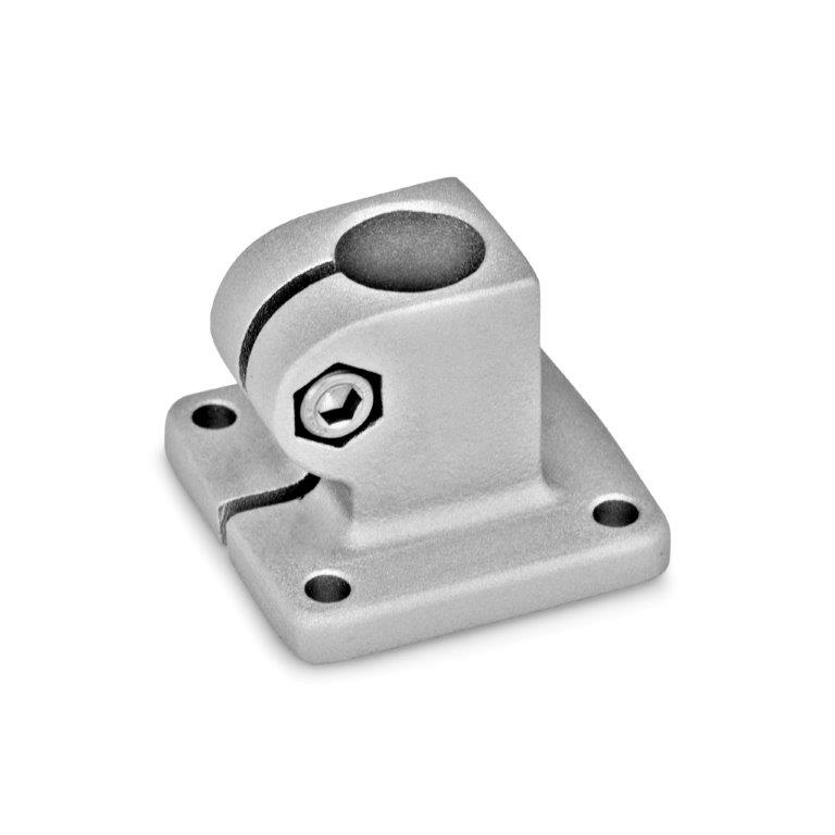 Base Plate Connector Clamps - Aluminum, GN 162 Series (JW Winco)
