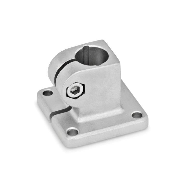 Base Plate Connector Clamps - Stainless Steel, GN 162 Series (JW Winco)