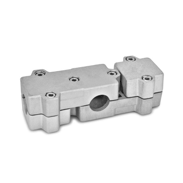 T-Angle Connector Clamps - Aluminum, Multi-Part Assembly, GN 195 Series (JW Winco)