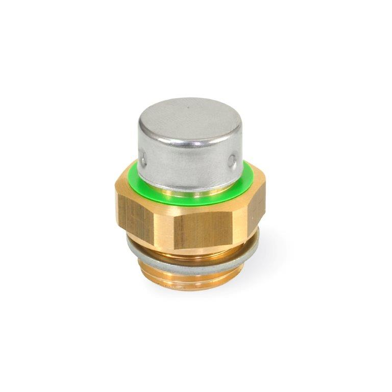 Breather Valves - Brass, GN 881 Series, Metric (JW Winco)