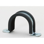 Saddle with Saddle Band Rubber (Electro Zinc Plated/Stainless)