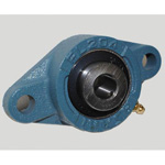 Diamond Flanged Unit, Cylindrical Hole Shape with Set Screw, UCFL Type