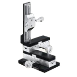 Type O Mechanical Stand (Without Lens-Barrel Holder) (Manual Stage) (Chuo Precision Industrial)