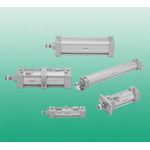 General Cylinders: SCG Series Tie Rod Type Cylinder