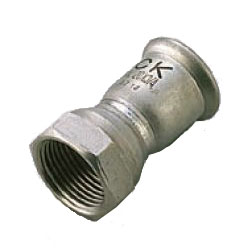 Press Fitting for Stainless Steel Pipes SUS Press Female Adapter Socket