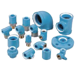 Adapter Elbow Pre-Sealed Core Fitting for Lined Steel Pipe - Normal Type (CK Metals)