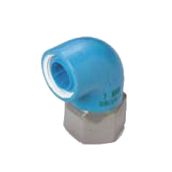 Elbow Pre-Seal Core Fitting for Appliance Connection - Insulating Type, Z Series, Female Adapter ZF (CK Metals)