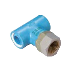 Tee Pre-Seal Core Fitting for Appliance Connection - Insulating Type, Z Series, Female Adapter ZF (CK Metals)
