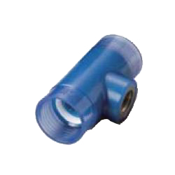 Water Faucet Tee Pre-Seal Transparent PC Core Fitting - Insulation Type, TPCZ Series (CK Metals)