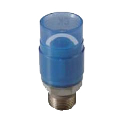 Adapter Socket Pre-Seal Transparent PC Core Fitting - Male, Insulation Type, TPCZ Series (CK Metals)