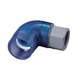Adapter Elbow Pre-Seal Transparent PC Core Fitting - Female, Insulation Type, TPCZ Series (CK Metals)
