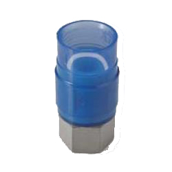 Adapter Socket Pre-Seal Transparent PC Core Fitting - Female, Insulation Type, TPCZ Series (CK Metals)