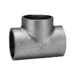 CK Fittings - Screw-in Type Malleable Cast Iron Pipe Fitting - T with Band