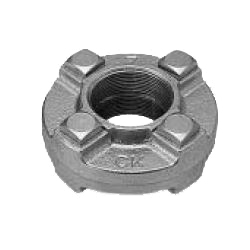 Flange Union Fittings for Galvanized Cast Iron Pipe - Threaded (CK Metals)