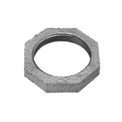 Stopping Nut/Lock Nut Fitting for Galvanized Cast Iron Pipe - Threaded (CK Metals)
