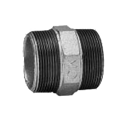 CK Fittings - Screw-in Type Malleable Cast Iron Pipe Fitting - Nipple