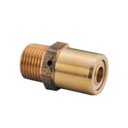 Multi-1 Aluminum 3-Layer Tube System Male Adapter m